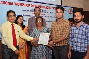 National Workshop on Maxillofacial Prosthodontics
