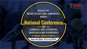 National Conference on 'Language and Literature Transgressing Boundaries