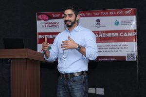 Press Release: Three-day Entrepreneurship Awareness Camp at Manav Rachna
