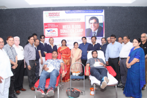Print Coverage – Mega Blood Donation Camp at Manav Rachna Campus