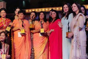 Dr. Nidhi Didwania awarded 'Women of the Future Award-2018'