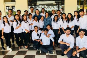 BBA Students went on an Industrial visit to Agra