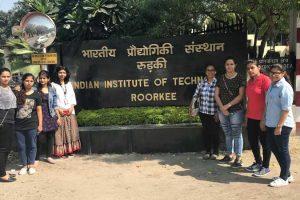 M.Sc. Mathematics Students went on an EduTrip to IIT Roorkee