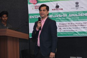 Entrepreneurship Awareness Camp at Manav Rachna
