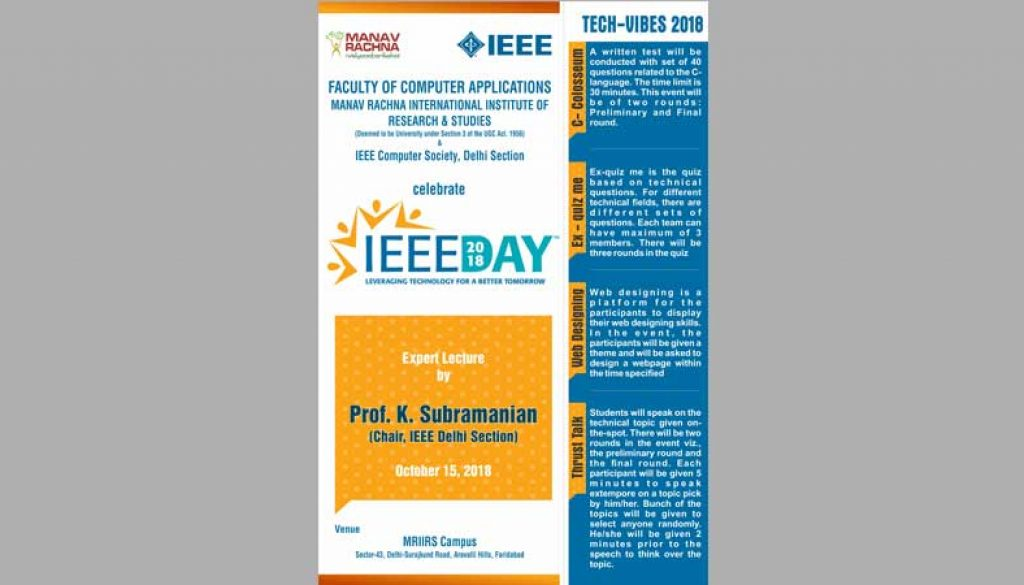 Expert-Lecture-by-Prof-K-Subramanian-on-October-15,-2018-at-MRIIRS-Campus-to-celebrate-IEEE-day