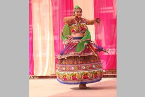 Garba eve at Manav Rachna Campus