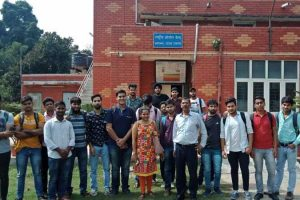 Civil Engineering Students Visited Indian Meteorological Department