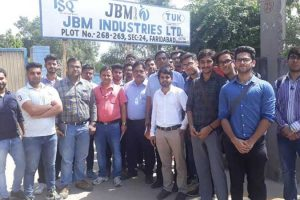 Students Visited JBM Industries