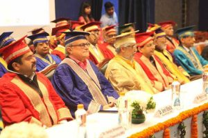 Prof. Anil Sahasrabudhe awards degrees at the sixth Convocation