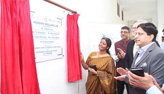 NSDC, Manav Rachna and Kunskapsskolan initiate a 'Model Lab' at GGSSN NIT 1