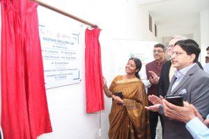 Print Coverage: Model Lab inaugurated at GGSSN NIT Faridabad by Sh G Anupama