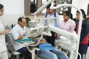 MRIS, Charmwood students explored career in Dentistry