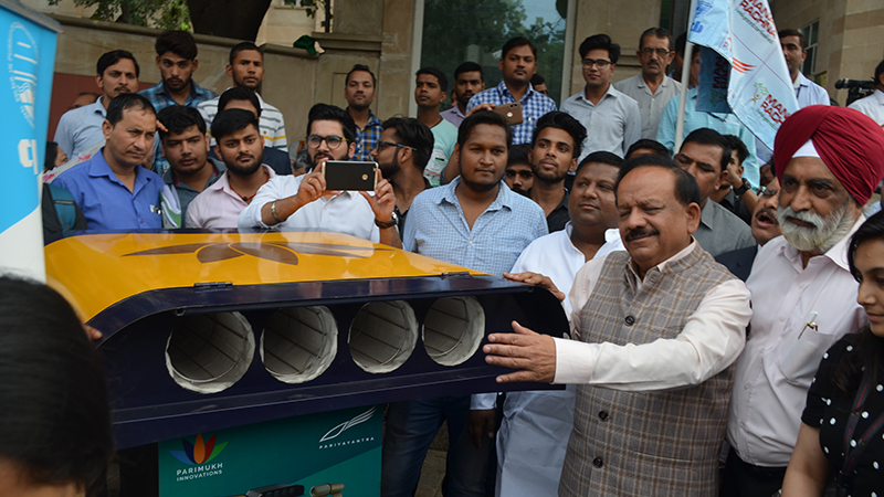 Manav Rachna's revolutionary Air Filtration project flagged off by CPCB 1