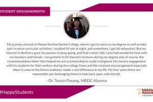 Dr. Tenzin Pasang shares her valuable experience