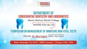 Symposium on Management of Immature Non-Vital Teeth (3)