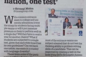 TOI-Education Times, Stratfirst India Event, December 17, 2018