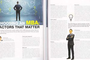 Print Coverage: Planning to pursue MBA after your graduation?
