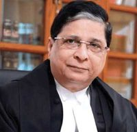"""Justice Deepak Misra launching a Campaign """"YOU ARE NOT ALONE"""" for Senior Citizens."""