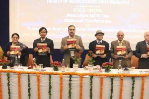 Print Coverage: National Conference on Language and Literature at Manav Rachna