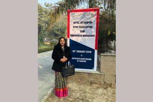 'Certificate of Appreciation' to MRU NPTEL Coordinator
