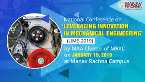 National Conference on Leveraging Innovation in Mechanical Engineering
