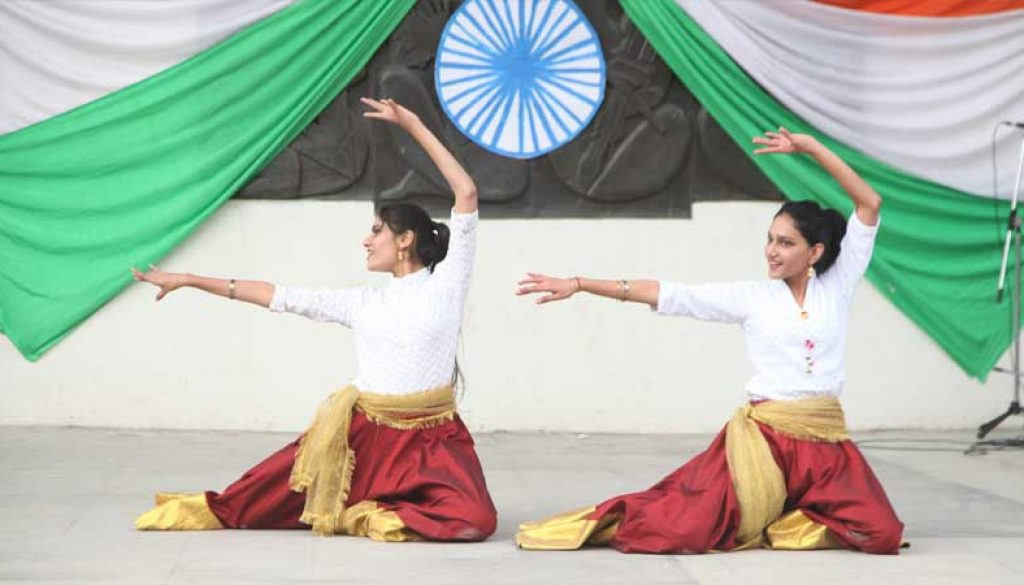 Revels in the celebration of the 70th Republic Day