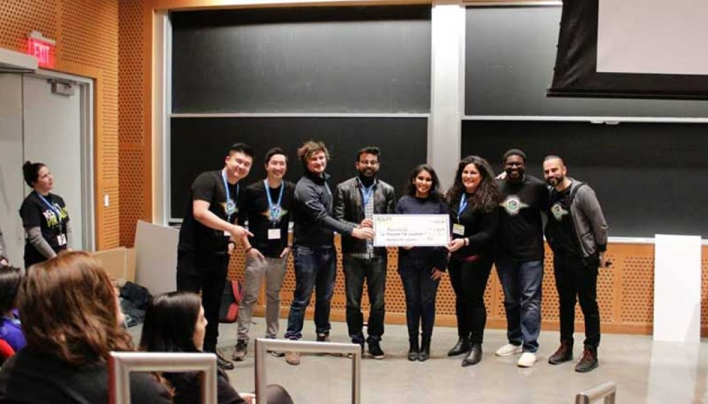 Shines in MIT virtual reality Hackathon