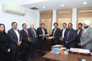Press Release: MoU Sign between MRIIRS and Stratemis HR Technologies Pvt. Ltd.
