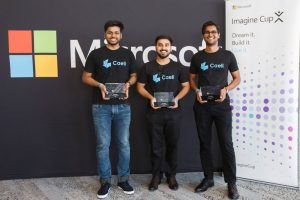 Manav Rachna lifts the first prize of Microsoft Imagine Cup Asia Finals 2019 held in Sydney