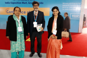 Manav Rachna Start-Up 'Tricho Agronica Pvt. Ltd.' at PETROTECH 2019
