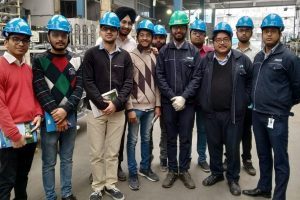 Industrial visit at JBM (J1), Gurugram