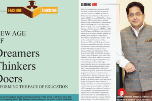 """India Today lists Dr. Prashant Bhalla, President- MREI as a """"Thought Leader"""" in its special 'EACH ONE TEACH ONE' feature"""