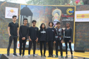 Manav Rachna students performed at 33rd Surajkund International Crafts Mela