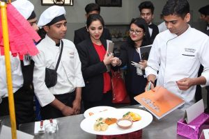 Press Release: Culinary Cooking Competition & Demonstration By Hotel Marriott Chef – Amit Kumar