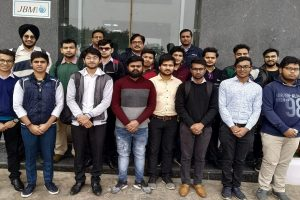 Industry Visit at JBM Plant, Gurugram