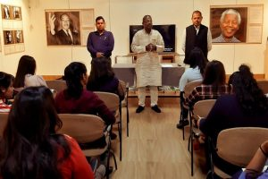 Students of B.A. (Hons.) English visited National Gandhi Museum