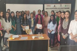 Valedictory Function of the Women Entrepreneurship Development Programme