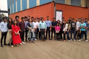 Industrial Visit to RBM Industries and Shri Chari Wires