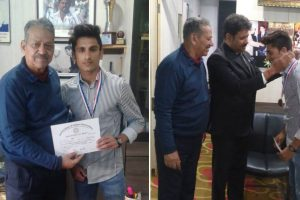 MRIIRS congratulates Rahul for winning a Bronze Medal in Kick-Boxing