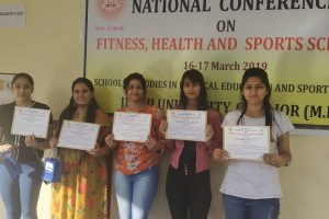 Team Manav Rachna Won First Prize in National Conference on Fitness, Health and Sports Sciences'
