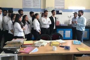 MBA Students Visited VITA Plant