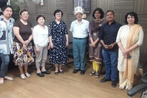 Visit by the representatives from Osh State University, Kyrgyzstan