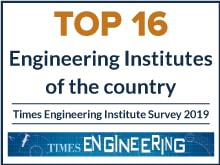 Top 16 Engineering Institutes of the country