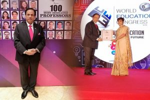 Prof. Jaideep Singh bestowed with 100 most dedicated professors award