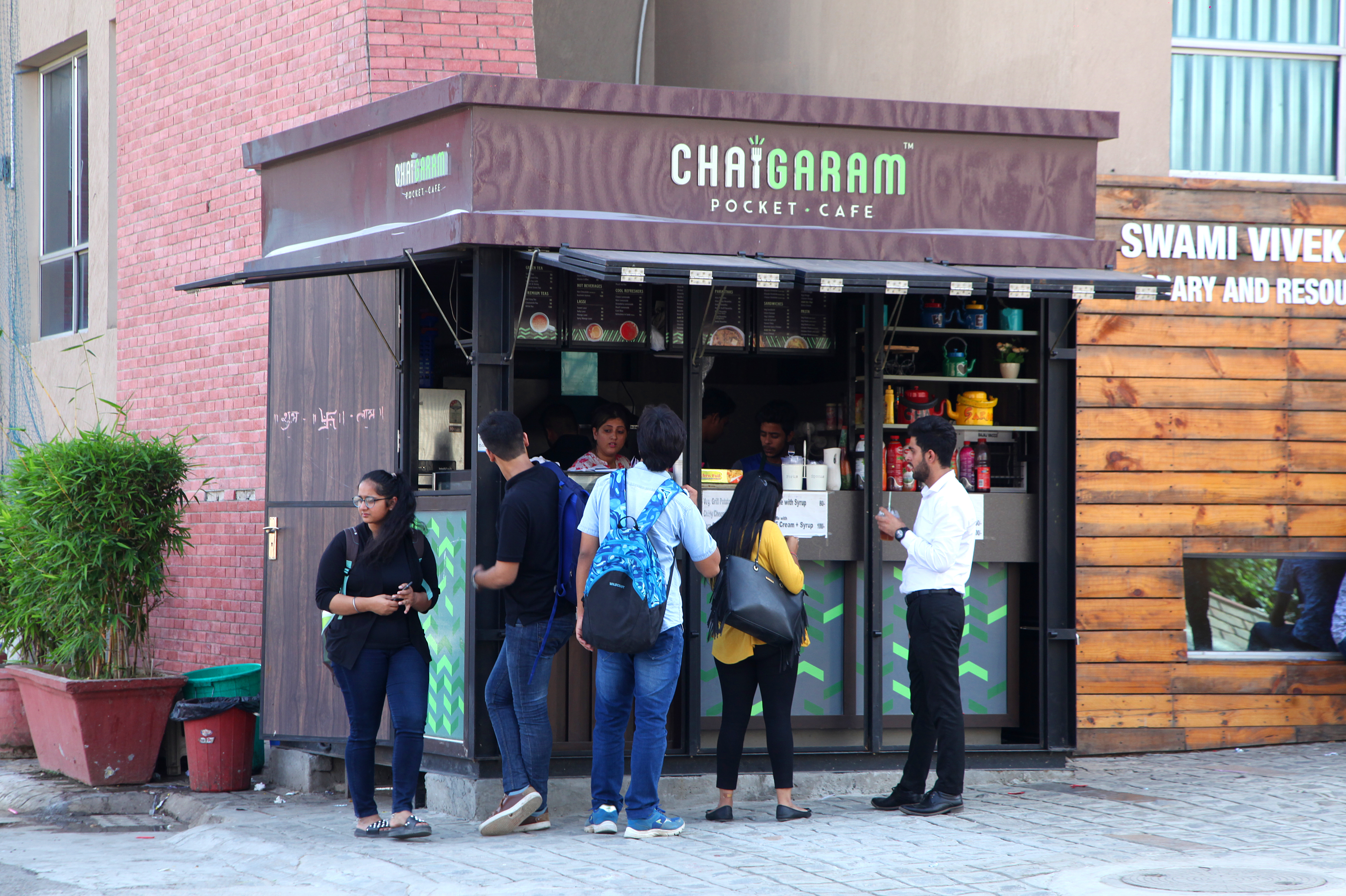 <center>    Chai Garam- The Pocket Café: Offering Freshly Brewed Handmade Chai