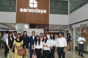 Visit to Sarvodaya Hospital