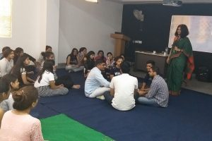 Interactive Workshop on Yoga and Meditation for B.Ed students