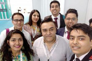 Hotel Management students visited India International Hospitality Expo 2019