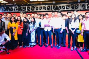 Ist year law students attended 'Tribute Paying Ceremony'
