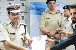 Bhavishya of MRU completed Internship at Commissioner's Office, Gurugram